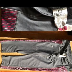 Under armour ankle gym pants